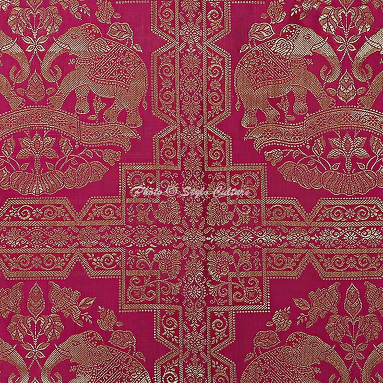 76x38 cm | 30x15 Pouces Stylo Culture Couvre-Oreiller de Couvre-Oreiller de Yoga Polydupion Indien Noir Cerceau Rond en Brocart dor/é Noir Grand canap/é Rond Coussin Coussins 1 Pc
