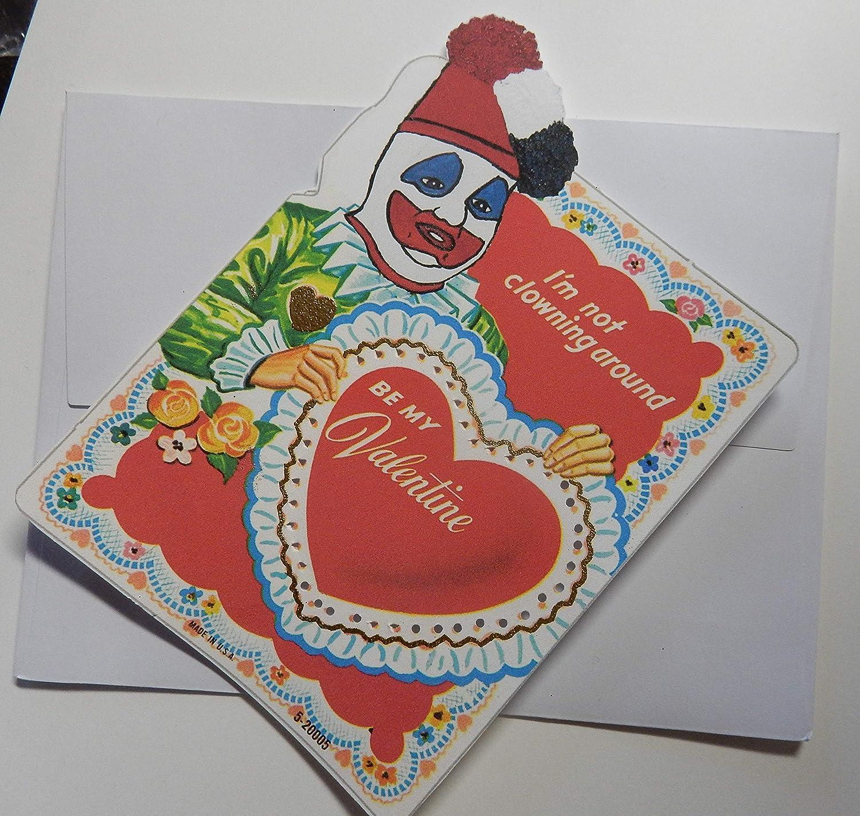Serial Killer True Crime Vintage Valentine Valentine\u0027s Day Cards. Set of 6.  Lot 2