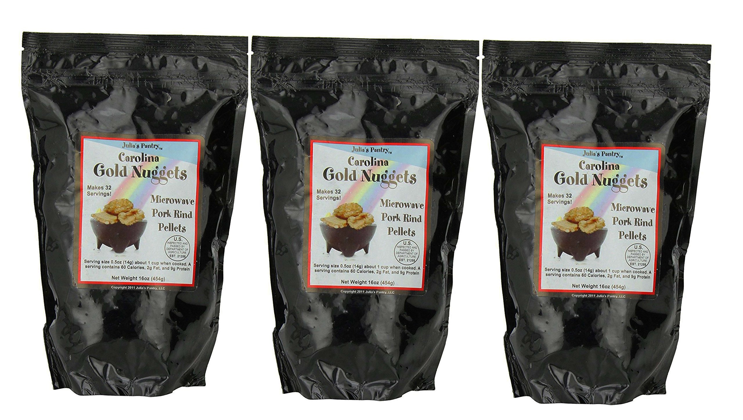 Carolina Gold Nuggets 3 - 1 Lb Packages