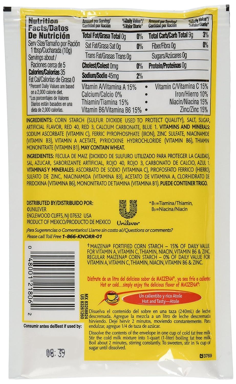 Amazon.com : Maizena Mix Atole Vanilla : Powdered Drink Mixes : Grocery & Gourmet Food