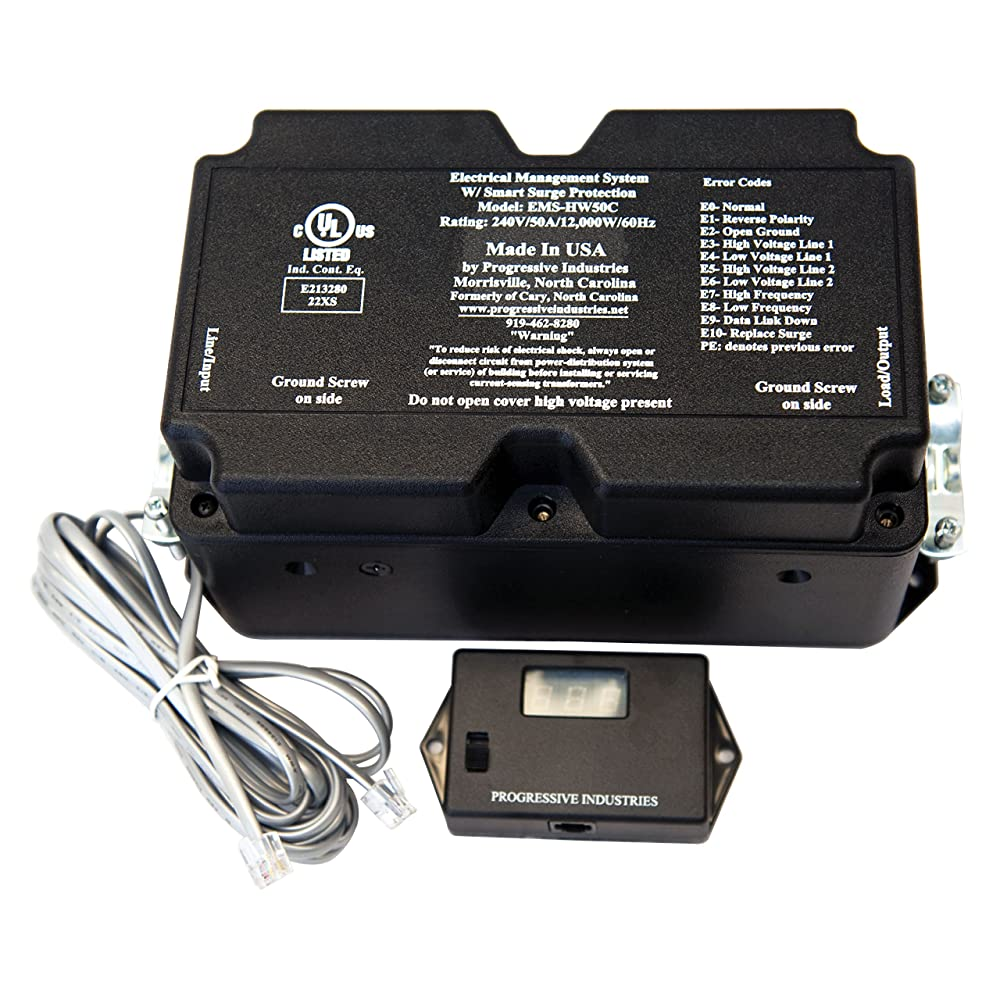 Progressive Industries EMS-HW50C Portable Electrical Management System - 50 Amp