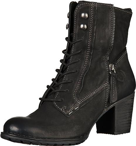 bugattiV52371g3 - Botas y Botines Cowboy con Forro Mujer, Color Negro, Talla 42 EU: Amazon.es: Zapatos y complementos