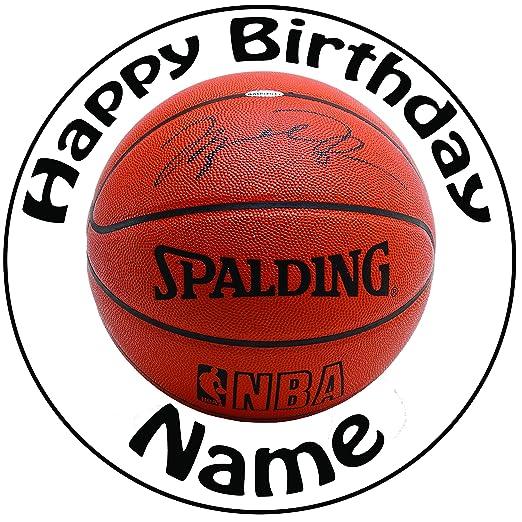 Decoración para tarta con diseño de baloncesto, precortada ...