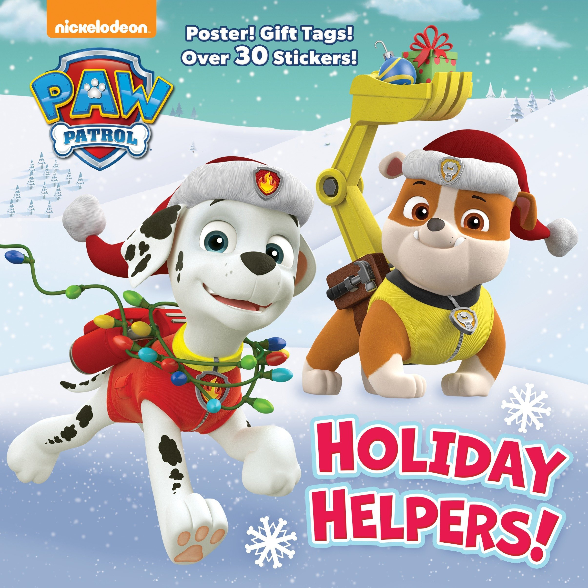 Holiday Helpers! (PAW Patrol) (Deluxe Pictureback