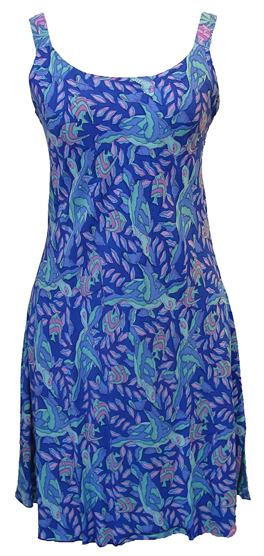 ab8c798eba4 Rainbow Jo Womens Sea Turtles A Line Sundress at Amazon Women s Clothing  store