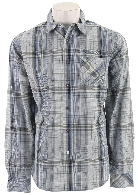 Planet Earth Herren Robinson Long Sleeve Shirt