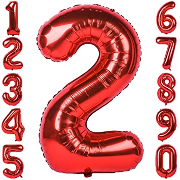 40 Inch Rose Gold Large Number Balloons Mylar Foil Big Number 0 Giant Helium Balloon Birthday Party Decoration 1973 OI