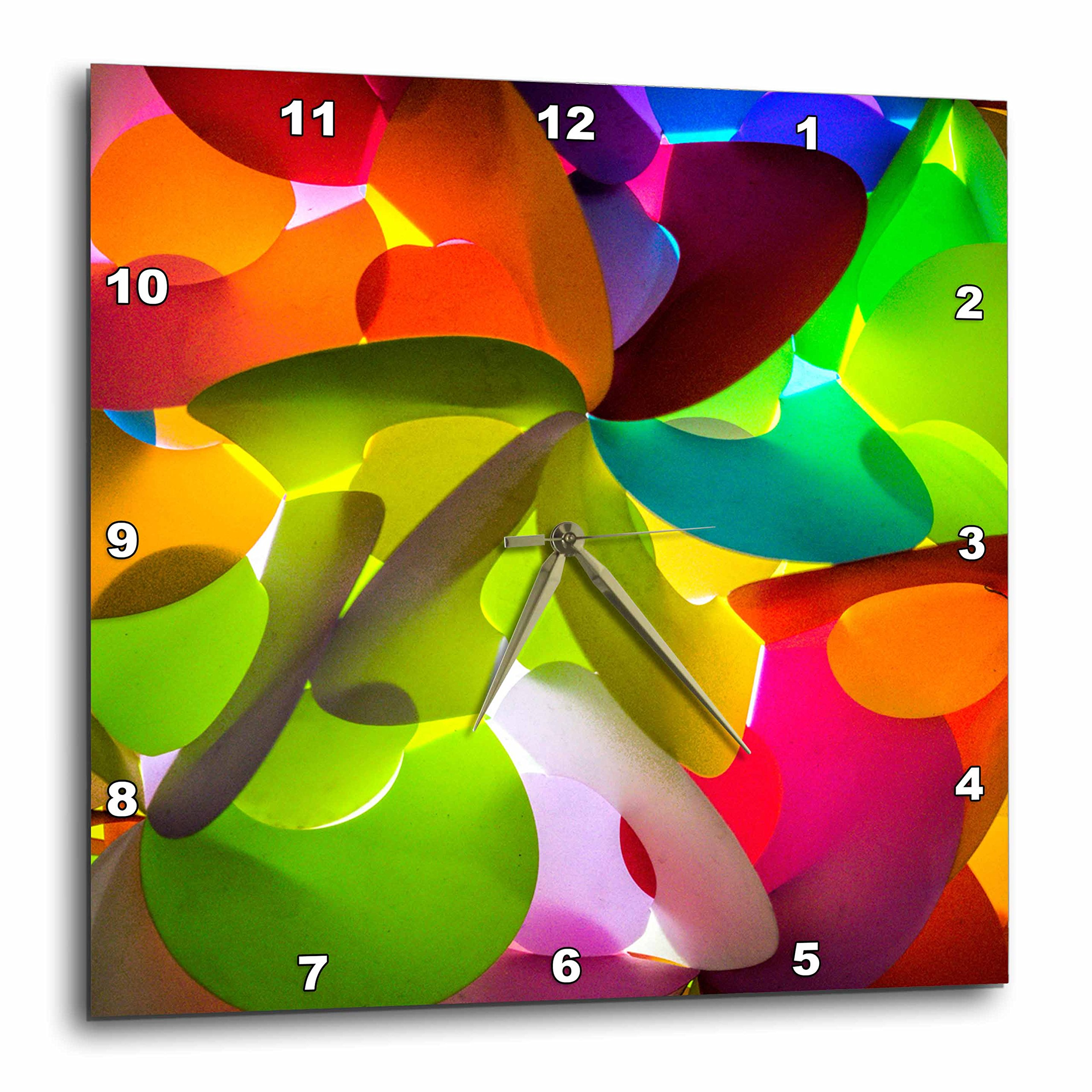 3dRose Danita Delimont - Abstracts - Thailand, Chiang Mai, Thai Market Place - 10x10 Wall Clock (dpp_276975_1) by 3dRose