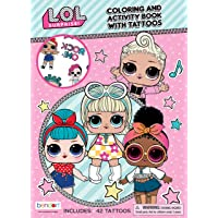 Bendon 45656 LOL Surprise Color & Activity Book with Tattoos