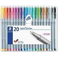 قلم تحديد من ستيدتلير 20قطعة ,ST-334-SB20