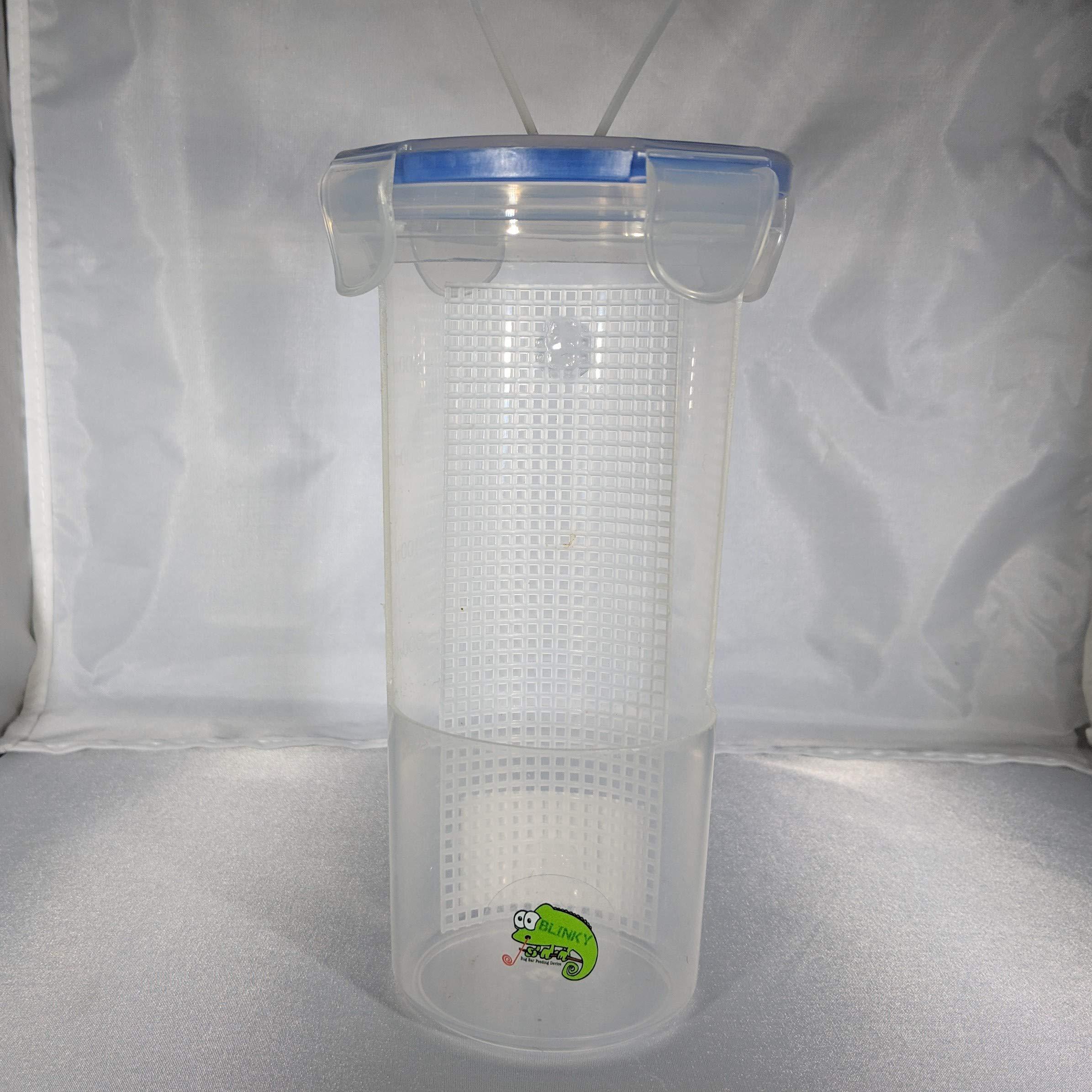 Blinky Chameleon Bar- Hanging Food Dish for Reptiles