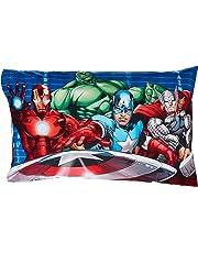 Jay Franco Marvel Avengers - Funda de Almohada, Halo Sham, Tamaño estándar, 1