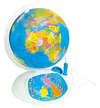 Clementoni 61302 explore the world the interactive globe toy clementoni 61302 quotexplore the world the interactive globequot toy publicscrutiny Choice Image