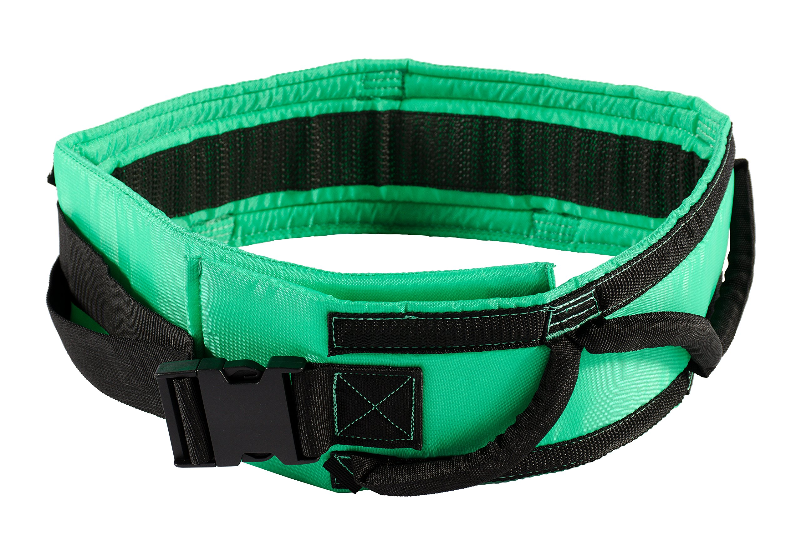 Patient Transfer Handling Belt, Padded Walking Gait Belt with Quick Release Buckle, Physical Therapy, Size Large