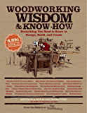 Woodworking Wisdom & Know-How: Everything You need to Design, Build and Create (English Edition)