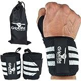 Fasce da Polso per Bodybuilding - Supporto da Polso Sport - Supporto per Polso per Crossfit, Ginnastica, Sollevamento Pesi - Gli Involucri del Polso per la Massima Protezione des Polso