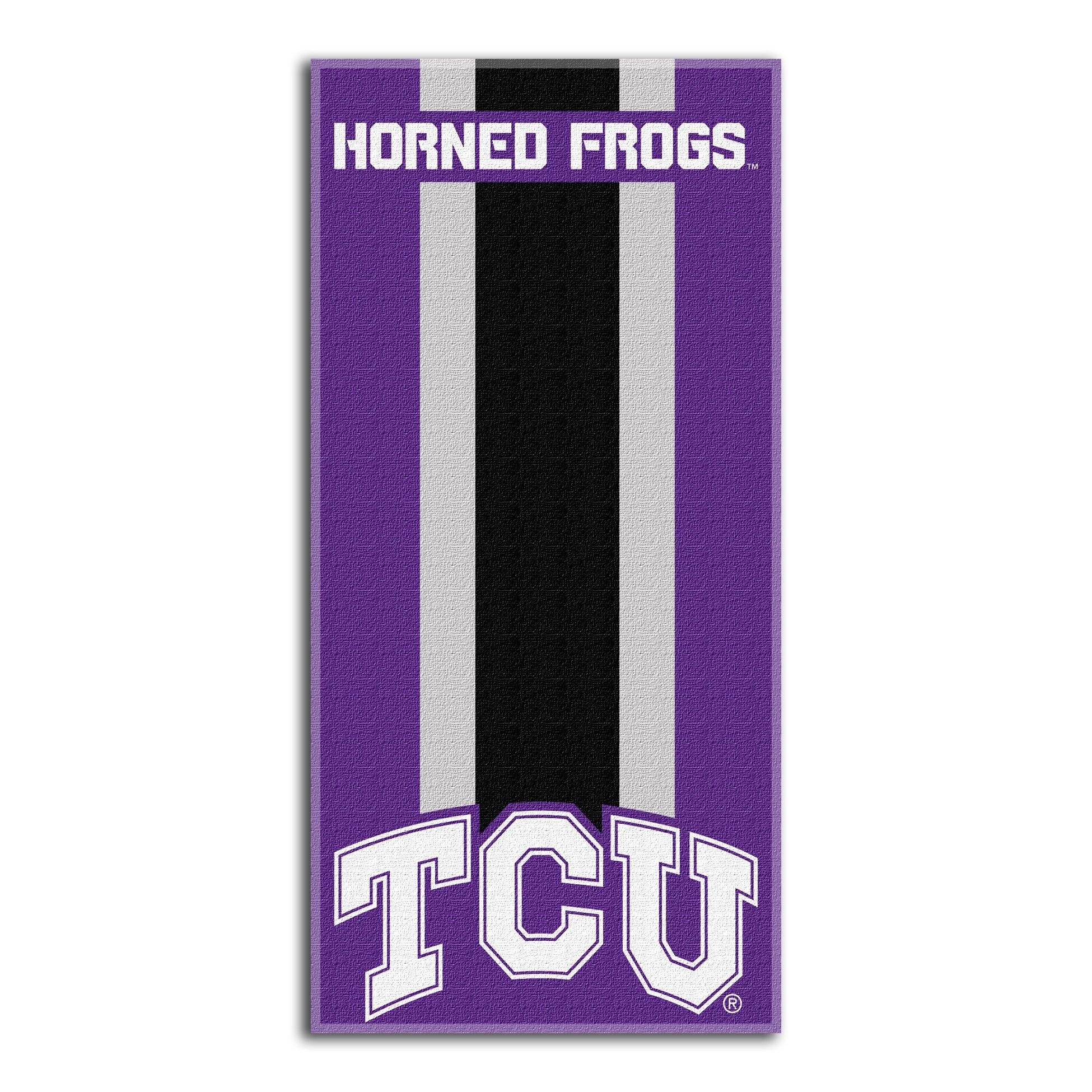 Northwest NCAA TCU Horned Frogs  Beach Towel,  30 x 60-inch