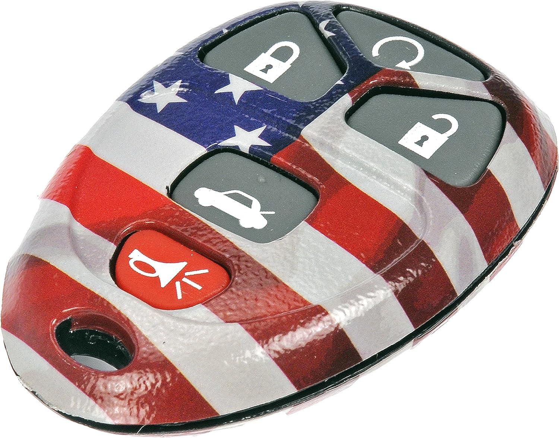 Dorman 13636US American Flag Keyless Remote Case