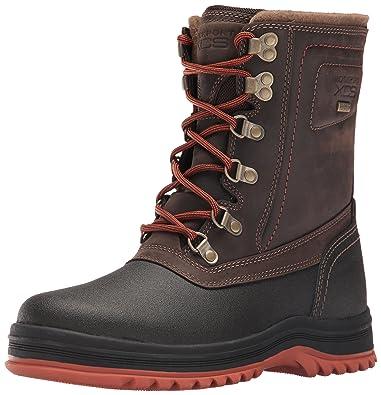 Rockport Men's World Explorer High Snow Boot- Dark Bitter Chocolate-7.5 M