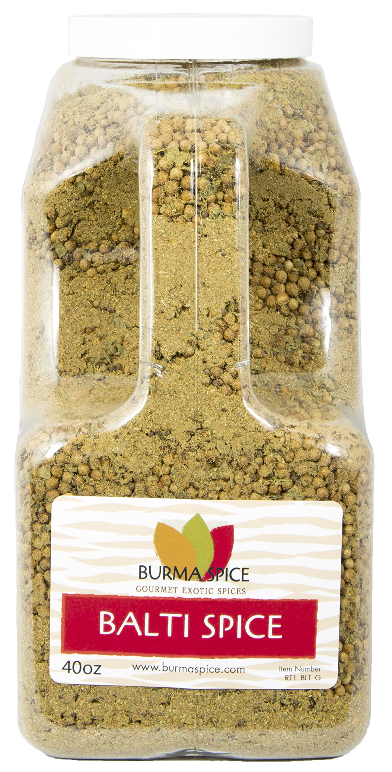 Balti Spice Blend : Used in Kashmiri Cuisine : 16 Spice Mix, Dry Herbs, No additives (40oz.)