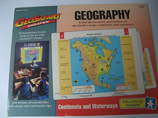 Workbook continents for kids worksheets : Amazon.com : Geosafari Theater Geography Continents and Waterways ...