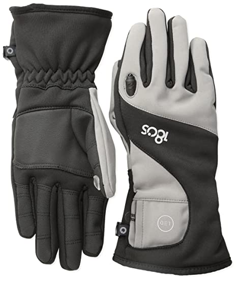 180s Men's Torch LED Glove,Steel Gray,Large