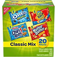 Nabisco Classic Mix Variety Pack, OREO Mini, CHIPS AHOY! Mini, Nutter Butter Bites...