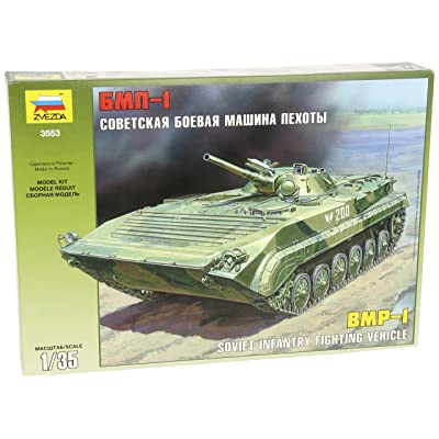 Zvezda 500783553 Russian BMP-1 Tank 1:35: Toys & Games