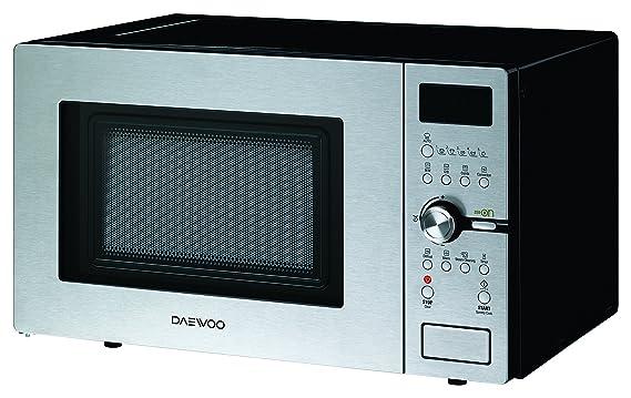 Daewoo KOC-9Q5T - Microondas digital convección y grill, 900 W, 28 L, INOX