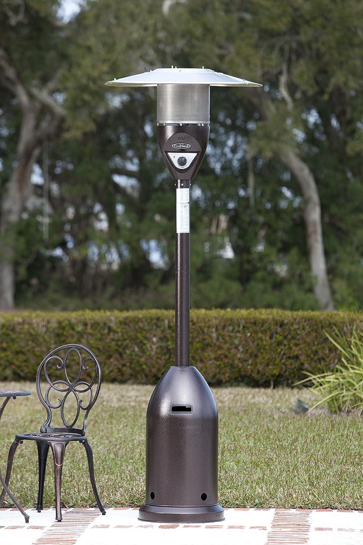 Amazon.com : Fire Sense Hammer Tone Bronze Deluxe Patio Heater : Portable  Outdoor Heating : Garden U0026 Outdoor