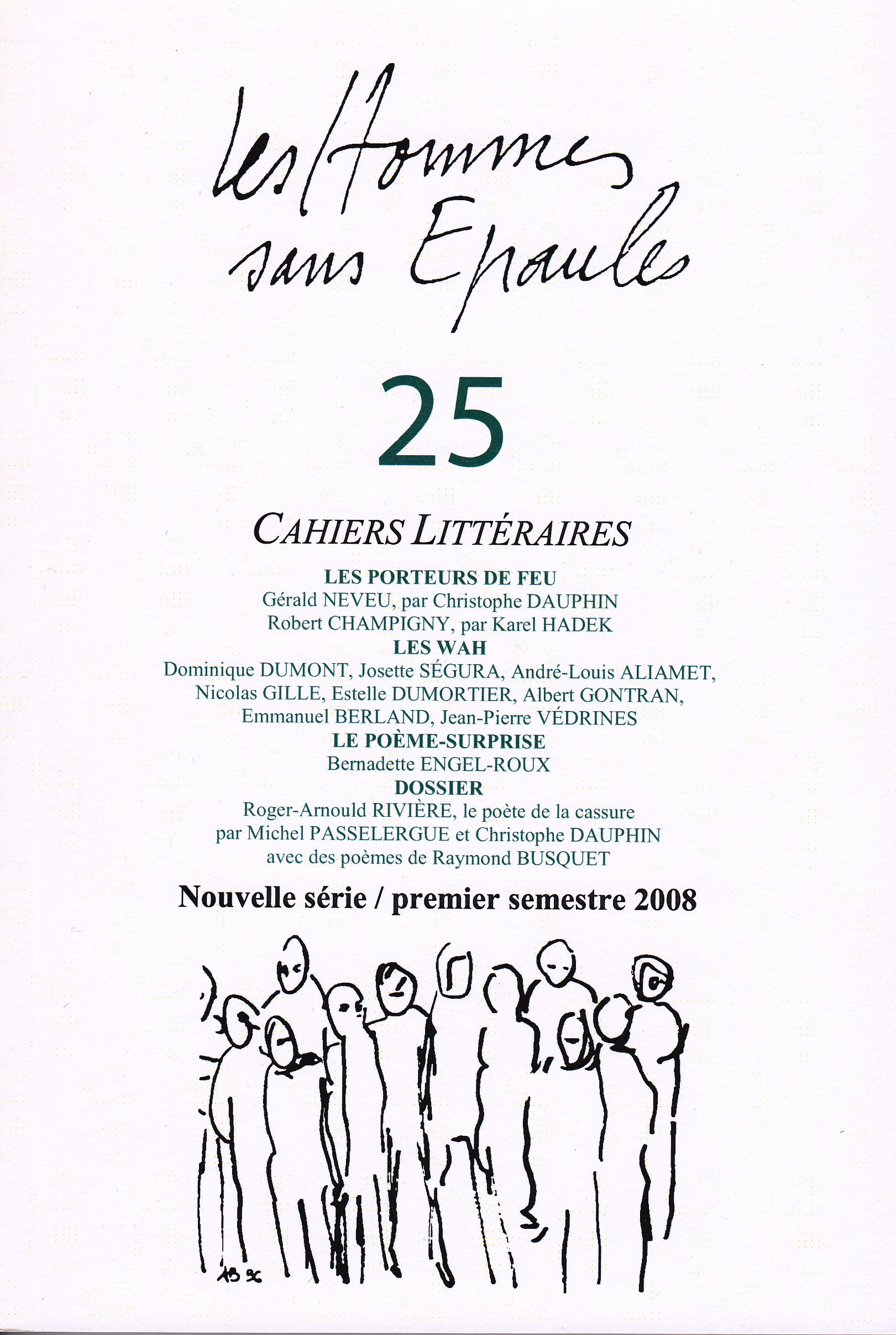 Les Hommes Sans Epaules N 25 Dossier Roger Arnould Riviere