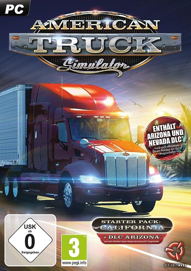 American Truck Simulator Starter Pack: California [Importación alemana]: Amazon.es: Electrónica
