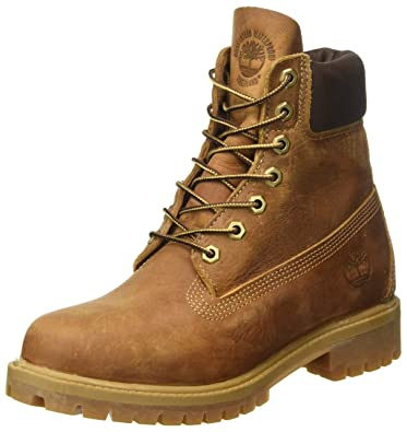 timberland montante marron
