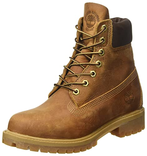 Timberland C27094 Heritage 6 inch Premium Waterproof, Men's Cold Lining  Ankle Boots, Brown (