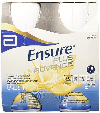 Abbott Ensure Plus Advance Taste Banana 4x220ml