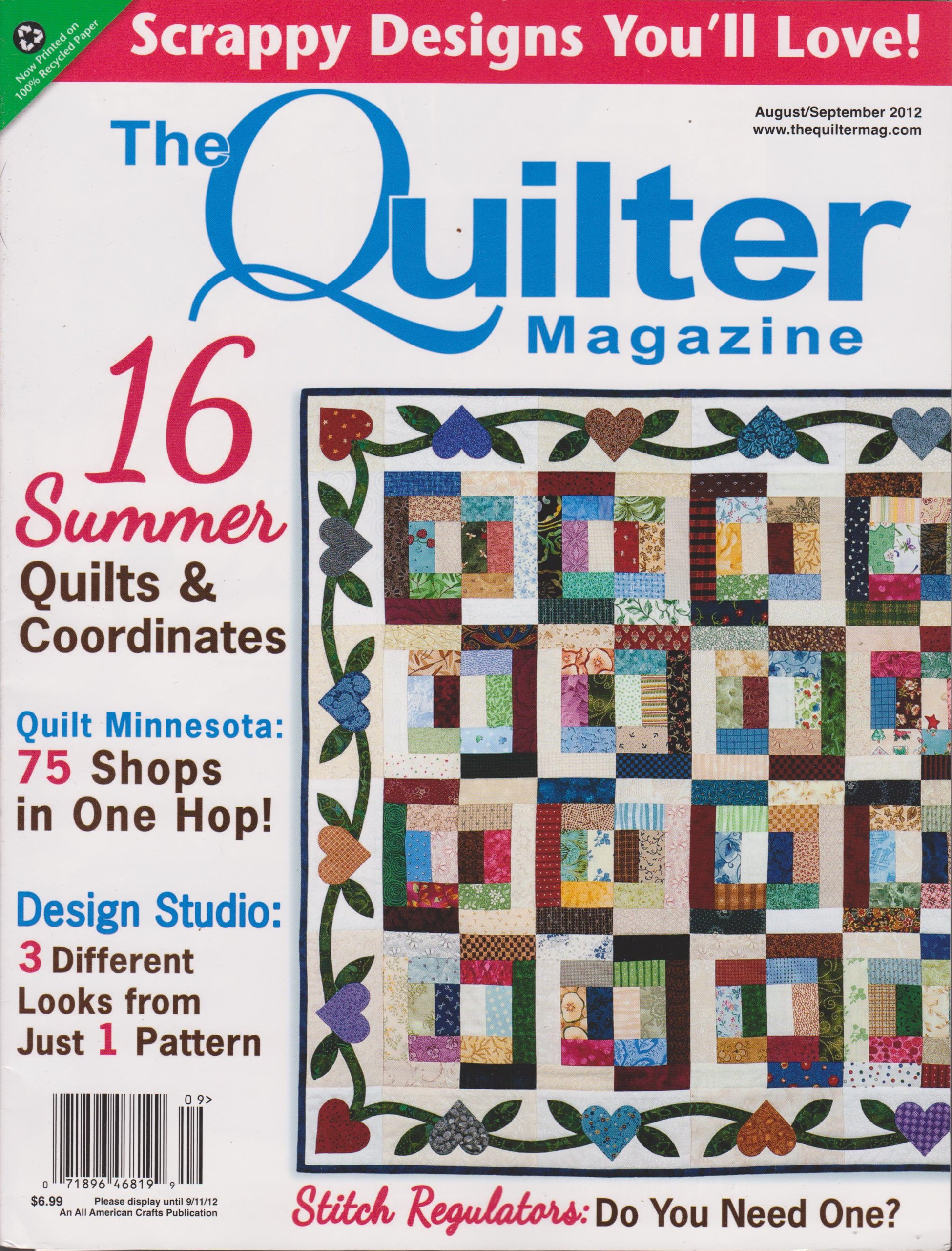 The Quilter Magazine (August/September 2012) pdf