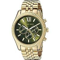 Michael Kors Men's Lexington Gold-Tone Watch MK8446