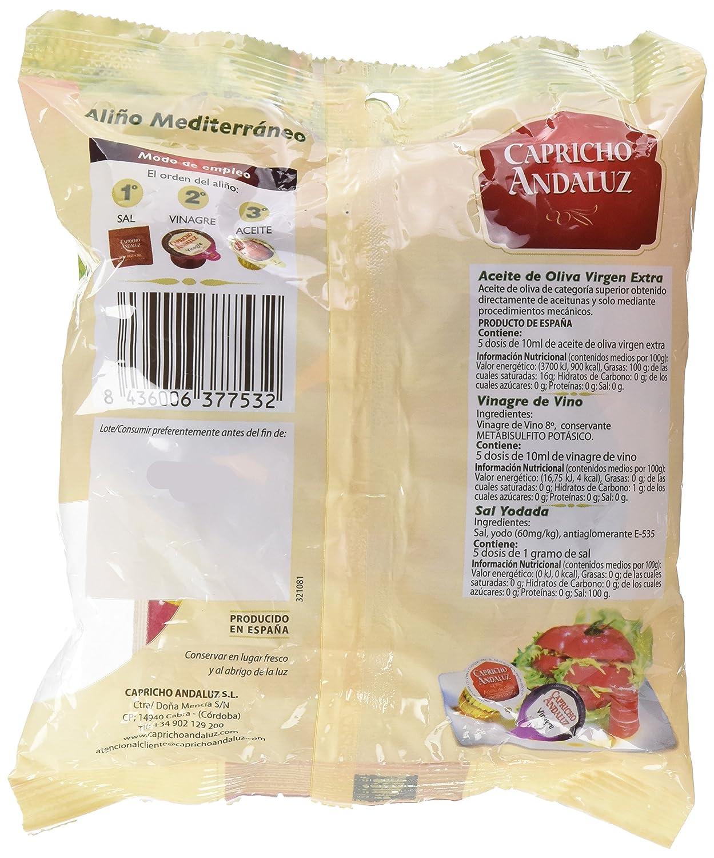 Capricho Andaluz Aliño Mediterráneo - 100 ml - [Pack de 10]: Amazon.es: Alimentación y bebidas