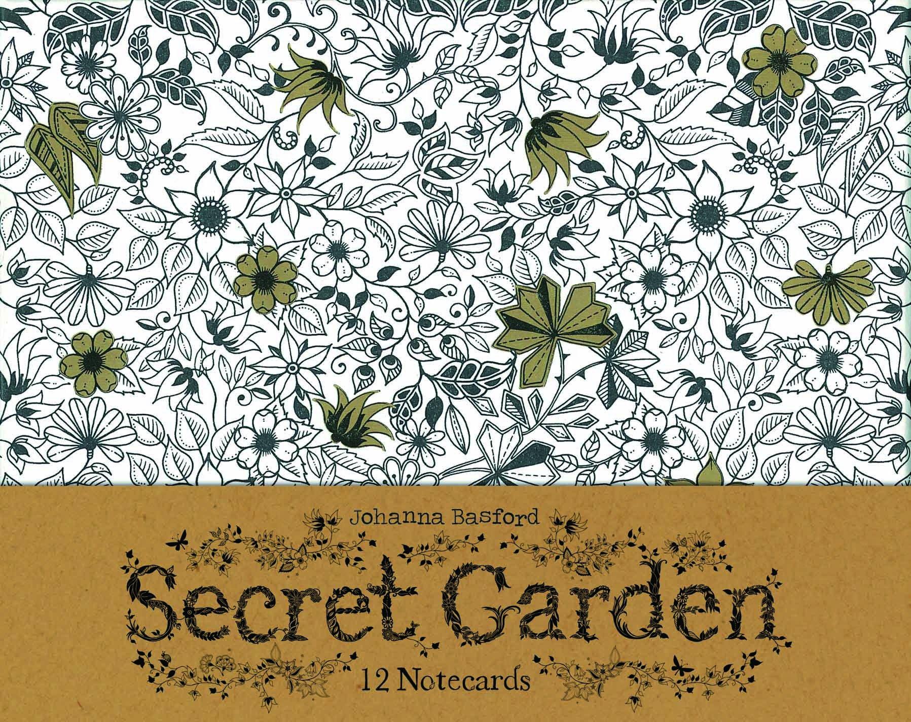 Amazon.com: Secret Garden: 12 Notecards (9781856699471): Johanna ...