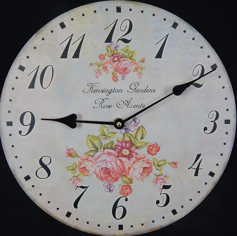 Tinas Collection Wanduhr rund mit einem /Ø von 30 cm