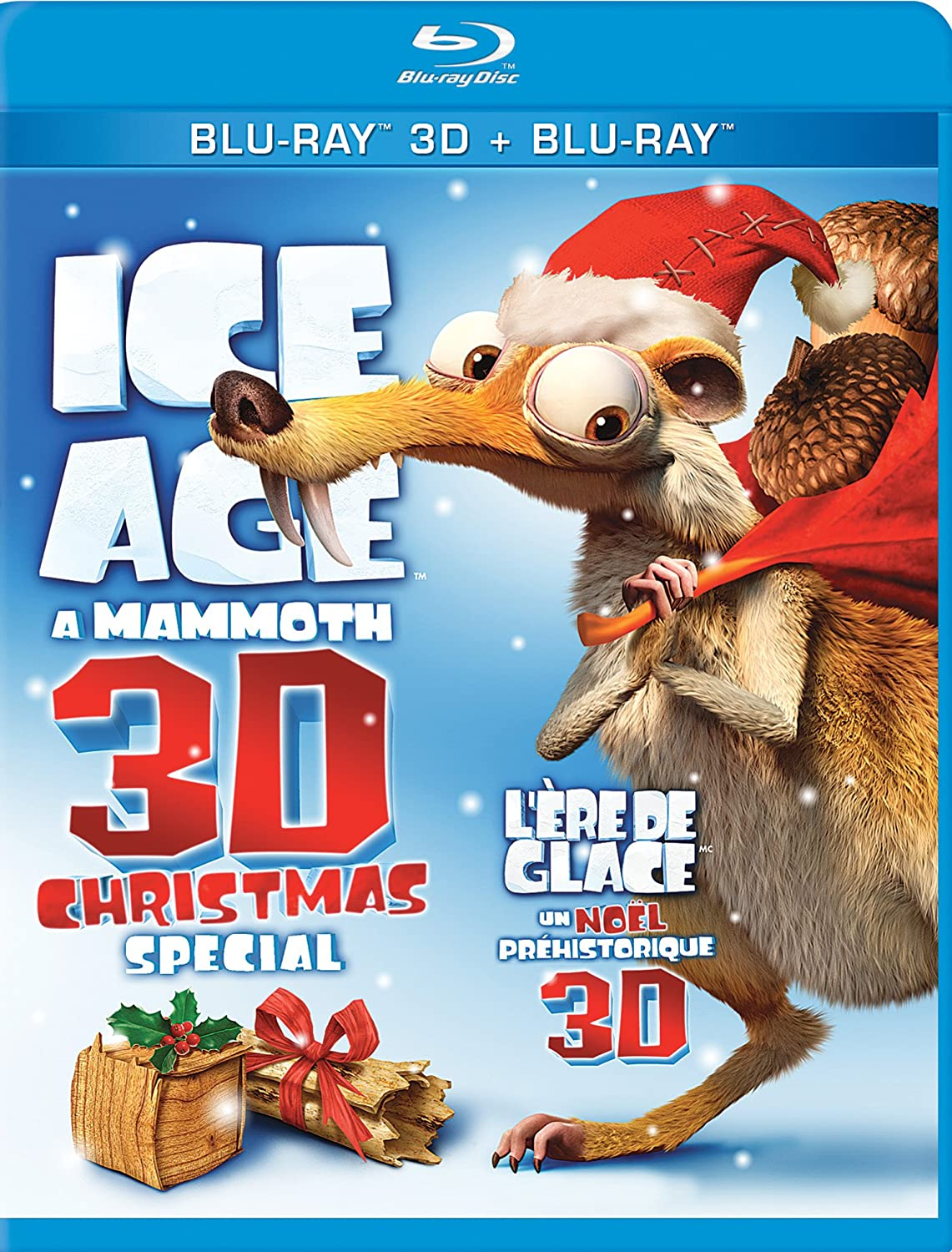 Ice Age: A Mammoth 3D Christmas Special [Blu-ray 3D + Blu-ray] Ray Romano