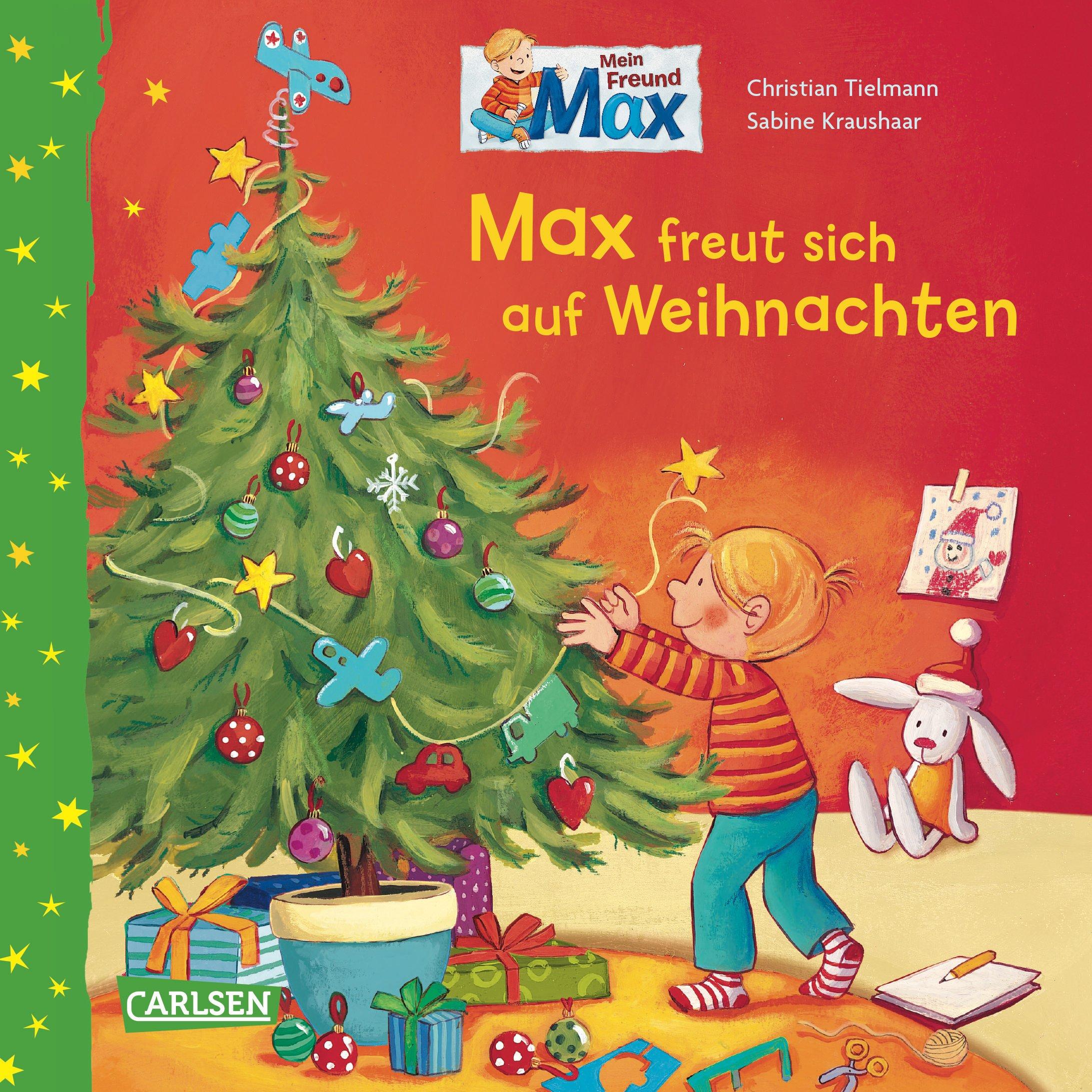 Max-Bilderbücher: Max freut sich auf Weihnachten: Geschenkausgabe ...