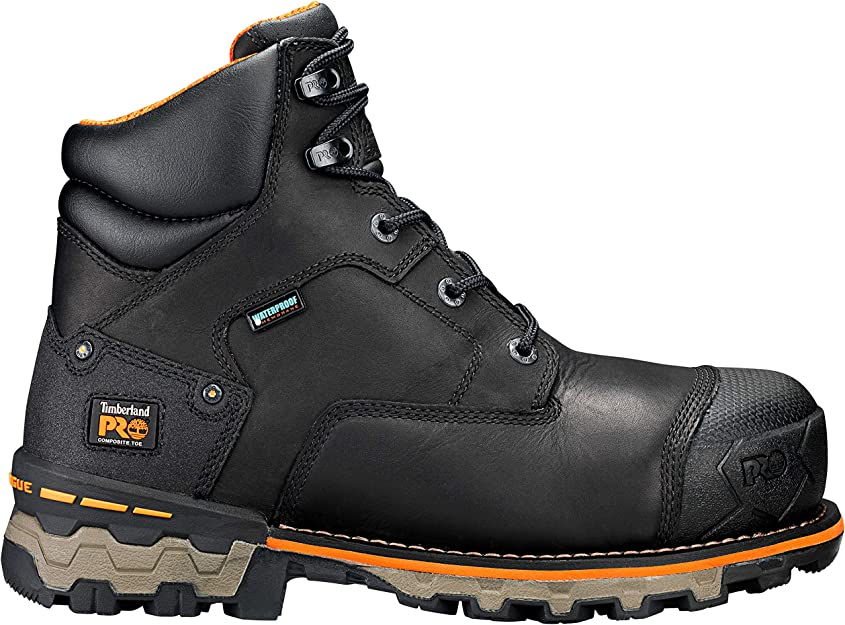 Timberland PRO Chaussure 6 in Boondock CT WP pour Homme, 42 EU, Black
