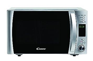 Candy CMXC25DCS - Horno microondas combinado con grill y cook in app, 25 L,