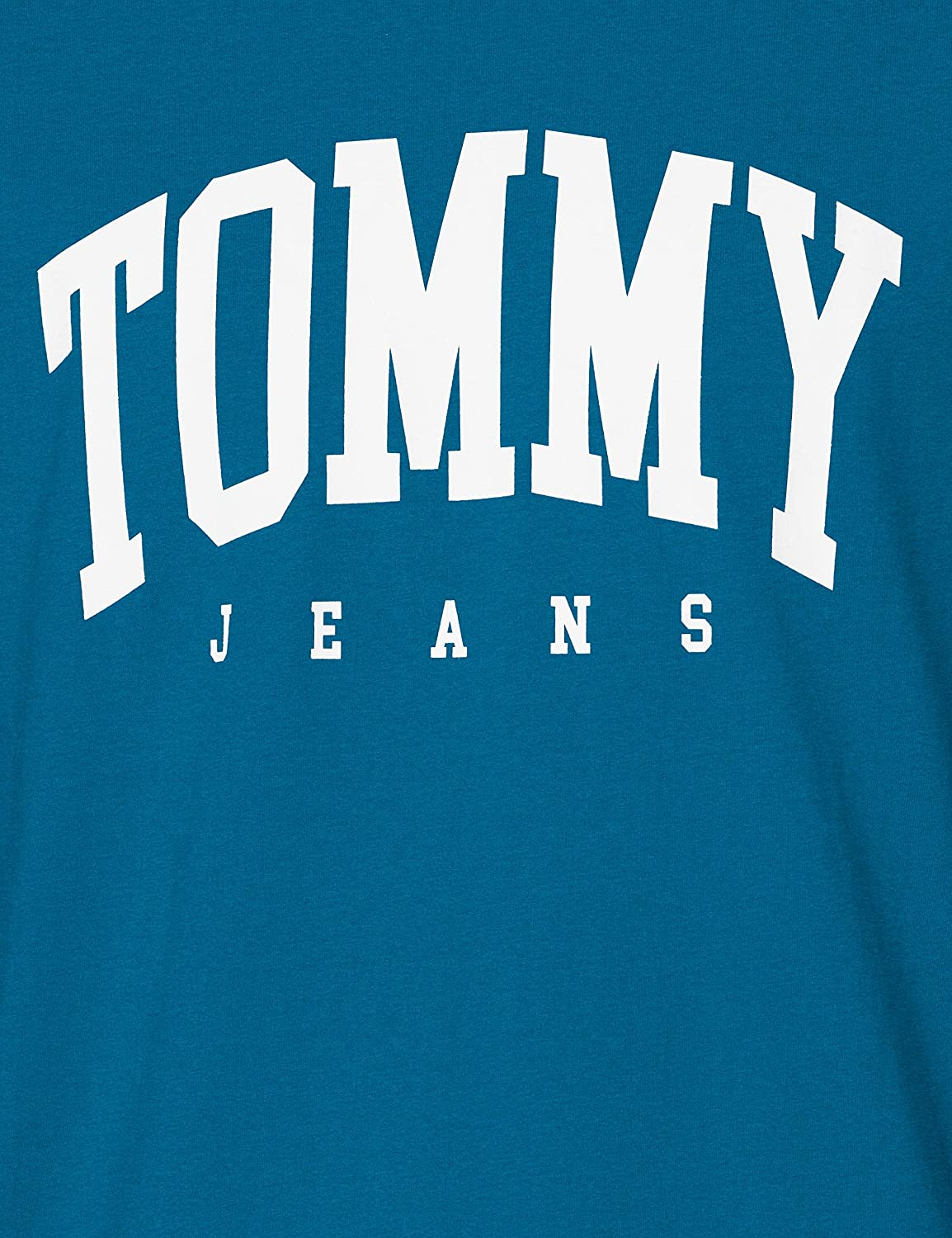 Tommy Jeans Mens Tjm Essential Logo Tee Casual Shirt