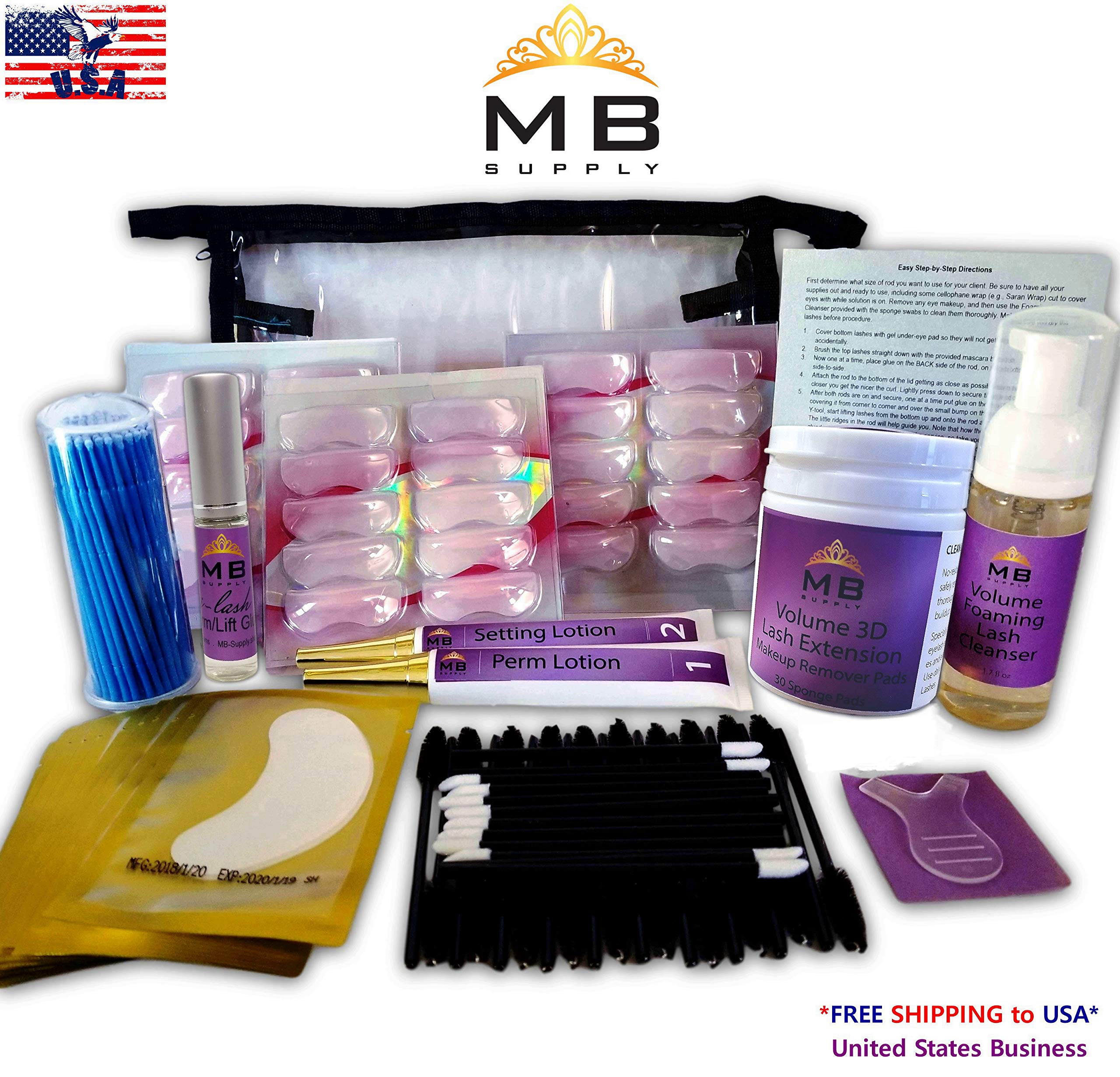 Perm 17 in 1 New Quality Curling Perming Eyelash Lift Lashes Easy Tube No Spill