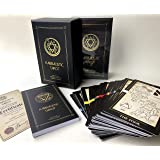 Kabbalistic Tarot Deck. Divination Tarot Cards. Unique Illustrated Occult Cards for Tarot Reading. Kabbala Cards for…