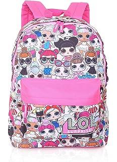 """Girls LOL Surprise 15/"""" Rock On Backpack Diva Rocker Pink Light Blue"""