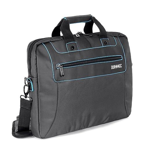 """2 opinioni per Duronic LB16 """"Compact"""" Borsa messenger a tracolla da viaggio per tablet Macbook"""