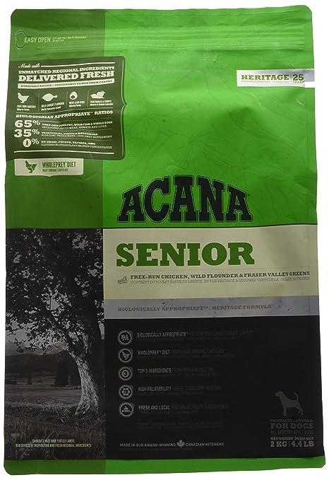 ACANA Senior - Comida para perro, 2 kg, 1 saco